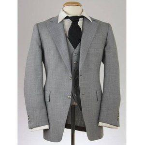 Vtg 80s Hart Schaffner & Marx 2-Piece Jacket/Vest